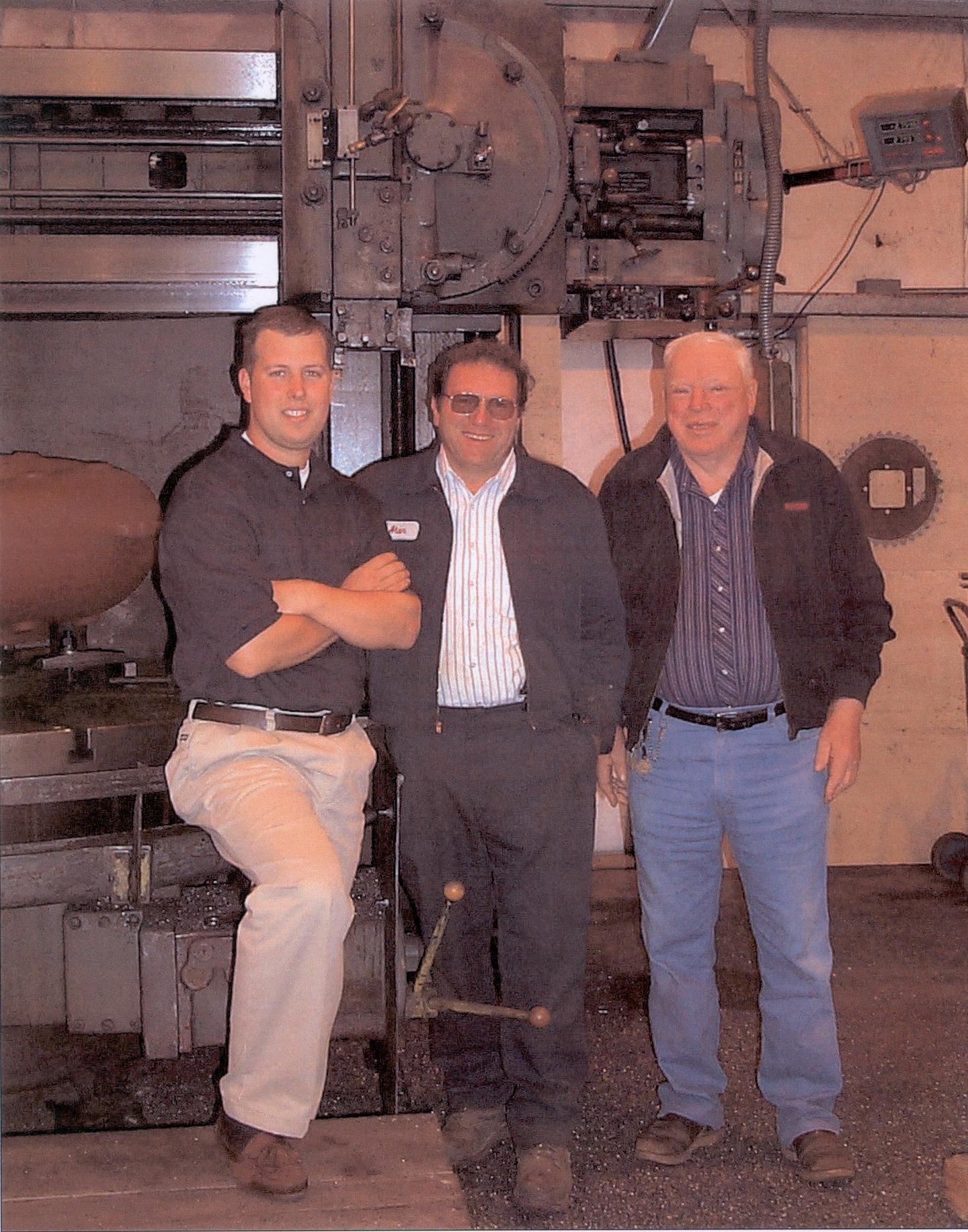 Matt Houghton, Alan Schurman, Paul Schurman